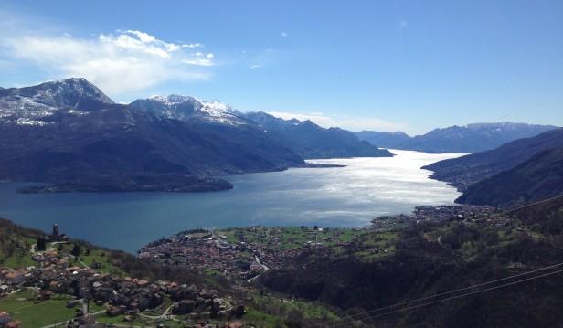 Lago di Como da Peglio